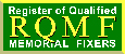 Register of Qualified Memorial Fixers